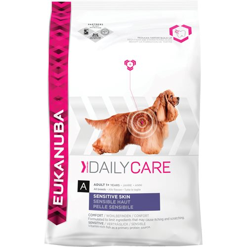 EUKANUBA DAILY CARE SENSITIVE SKIN 12 KG