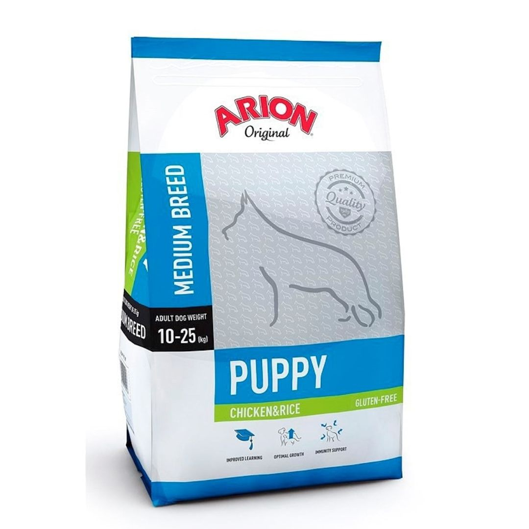 ARION PUPPY MEDIUM CHICKEN/RICE 12 KG