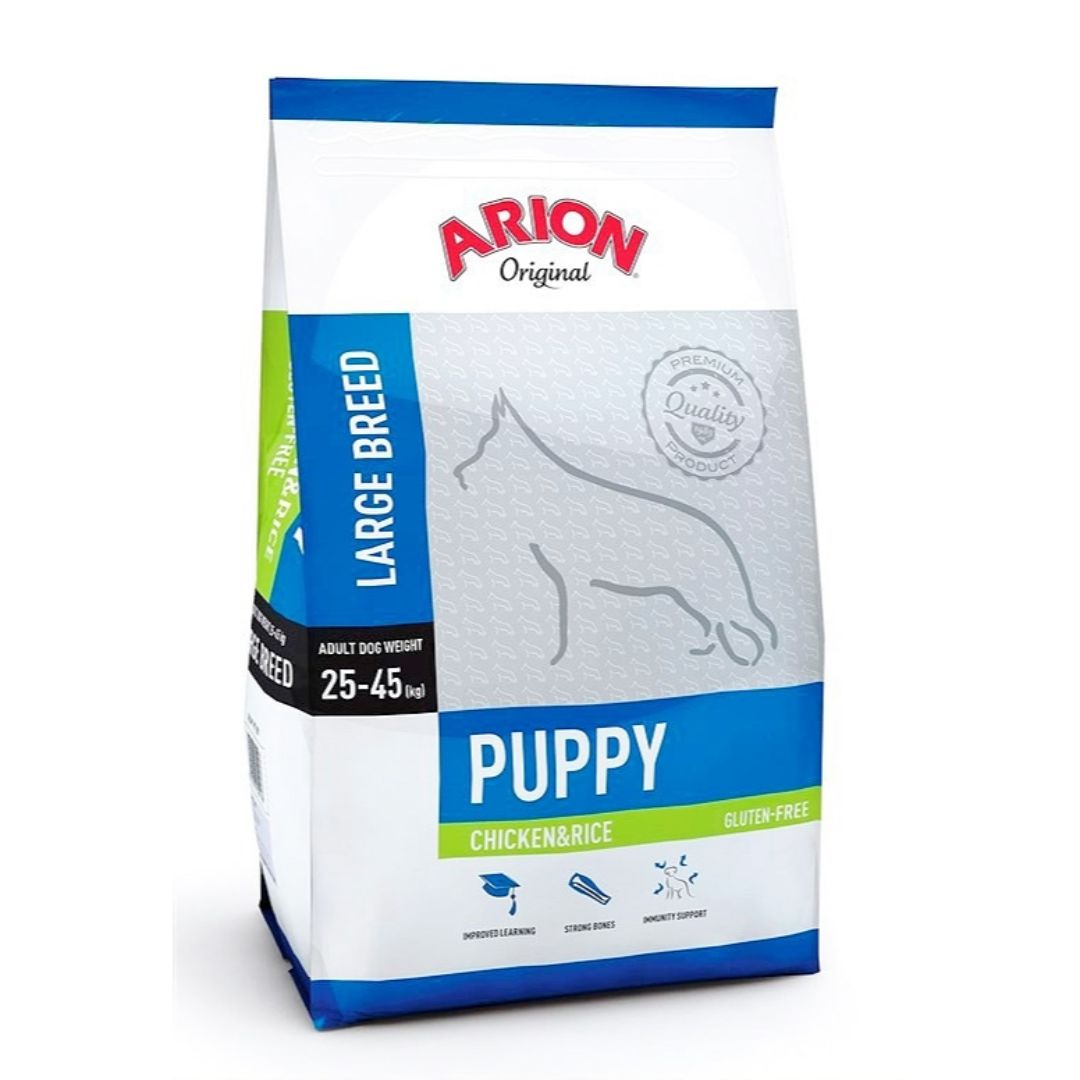 ARION PUPPY LARGE CHICKEN/RICE 3 KG