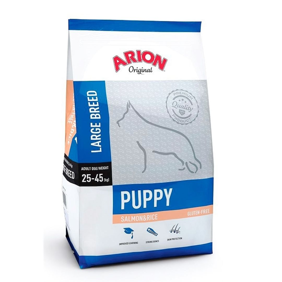 ARION PUPPY LARGE SALMON/RICE 12 KG